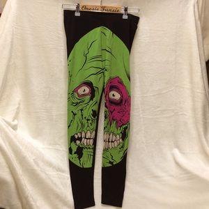 Iron Fist Zombie Leggings, S NWOT